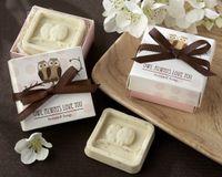Wholesale 40Sets Mini Owl Soap Wedding Gifts For Guests Kits Party Supplies Artigos Para Festa Infanti Souvenirs Baby Shower Boy