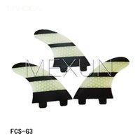 Wholesale New design FCS G3 fiberglass honey comb material for surf fins S size