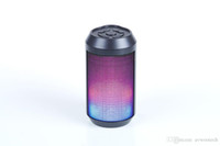 balance wireless - Factory promotion Portable Mini Bluetooth Speaker with Color chaning lights and balanced sound