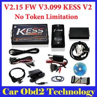 Wholesale New V2 Firmware V3 KESS V2 OBD2 Tuning Kit Master Version No Token Limitation by DHL