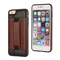 Wholesale brand luxury leather wallet case for iphone s Plus cover for samsung galaxy S6 S7 edge note stand card holder