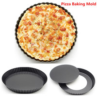 Wholesale New Hot Good Selling Home Kitchen DIY Cooking inch Round Cake Pizza Baking Tools Mold