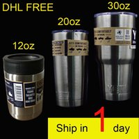 Wholesale YETI Bilayer Stainless Steel Insulation Cup oz oz oz oz Cups Cars Beer Mug Large Capacity Mug dhl free OTH242