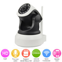 Wholesale Security CCTV Network High Quality HD Wireless IP Camera P Night Vision Security Camera P2P ONVIF IP Camera WIFI