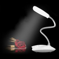 arts reading - LED Table USB Desk Lamp Abajour Led Night Reading Book Light Touch Power Bank Table Lamps For Lighting Escritorio Abajur Kindle