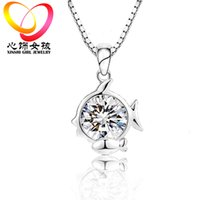 Wholesale hot fashion jewelry for girls jewelry Twelve constellations jewelry Animal model With diamond silver jewelry sets