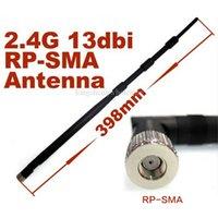 Wholesale 10pcs g dbi sma router antenna black color Standard IEEE802 b IEEE802 g IEEE802 n