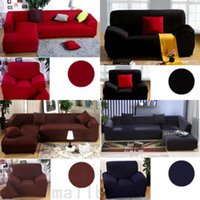 Wholesale Fashion L Shape Sofa Cover Tight All inclusive Sofa Towel Slipcover Stretch Fabric Single Two Three Four seat Elastic Sofa Cover Cushion