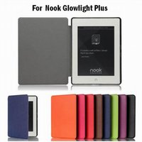 barnes noble book - 1pcs Fashion PU Leather Pocket Book Cover Flip Case for Barnes Noble Nook Glowlight Plus eReader