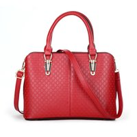 Wholesale Edge fashion women handbag top handle long strap embossed pattern synthetic leather ladies bags