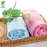 Wholesale Fei ran non staining wood fiber baby enlarge robes soft and comefortable gauze towel free post Anti bacterial