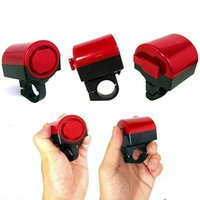 Wholesale 1pc Electronic Bicycle Bike Cycling Alarm Loud Bell Horn Powered By Battery F00301 FASH