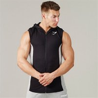 Wholesale Fall In The New Product Muscle Brothers Gym Shark Hoodies Stringer Gymshark Sleeveless Vest Vest Male Fitness
