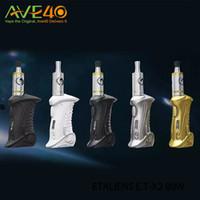al por mayor x2 electrónica-Original ETAliens E.T-X2 80W Kit extranjeros ET E.T X2 80W Box Mods con cigarrillos de vapor ETK atomizador de aleación de zinc Meterial electrónicos