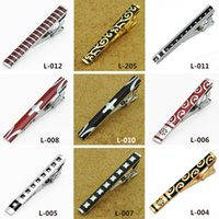 Wholesale Many Of Mens Tie Clips Fashion Metal Stainless Steel Tie Clips Silver Plated Wedding Tie Clip Cheap Tie Clasps Tacks For Men