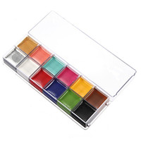 airbrush makeup colors - 1 Set Colors Flash Tattoo Face Body Paint Oil Painting Art Halloween Party Fancy Dress Beauty Makeup Tools
