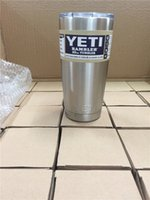 beer bottle wall - Yeti oz Cups Cooler YETI Rambler Tumbler Travel Vehicle Beer Mug Double Wall Bilayer Vacuum Insulated Stainless Steel