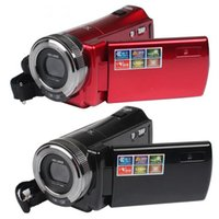 Wholesale New HD Camcorders Megapixel quot TFT LCD x Digital Zoom High Definition Video Camera Recorder Red Black