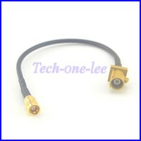 rf coaxial pigtail cable - GSM Antenna Extension Cord RF Coaxial Cable Fakra K Male to SMB Female Jack Connector Pigtail Cable RG174 CM