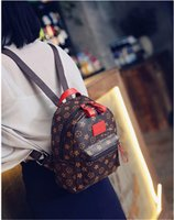 Wholesale Women Mini Backpack Bag presbyopic casual shoulder bag simple fashion style