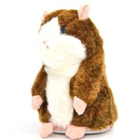 Wholesale Electronic Talking Toy Hamster Repeating Russian Any Language Plush Learning Toys Pet Animals Mouse High Quality