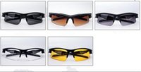 night vision glasses - New Fashion Night Vision Goggles Wind Proof Sunglasses Men And Women Outdoors Sport Riding Glasses