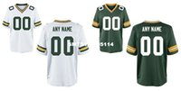 bay custom - HOT SALE Men s Green Bay packer Custom Elite Football Jerseys High Quality Stitched Any Name and Number You Decide Two Colors Allowed