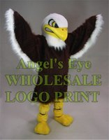 bald eagle cartoon - Bald Eagle Mascot Costume Adult Size Cartoon Character Outfit Suit Fancy Dress Party Carnival Costumes SW810