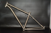 Wholesale 2016 price for gr9 Ti3al2 v titanium mountain bike frame from China manufacturer