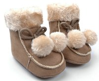 Wholesale WENDYWU infant baby winter boots for month