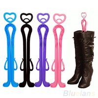 beading storage - cm Plastic Long Boots Shaper Stretcher Trees Supporter Shaft Keeper Holder Organizer Storage Hanger Accessories XK