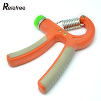 Wholesale Adjustable KG Forearm Exerciser Heavy Hand Wrist Power Strength Sports Training Fitness Muscle Orange Durable