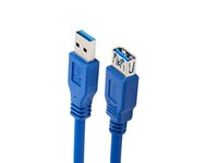 additional usb - A Price New generic SuperSpeed USB additional Cable M F Blue