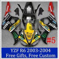 Wholesale Motorcycle fairing set for Yamaha YZF R6 fairing kits Tech3 YZF R6 Motorcycle Faring Set Brand new OEM fairing sets