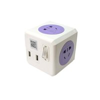 ac socket with usb - Intelligent Smart Wifi Plug Socket Multi Outlets Power Cord with AC Plugs and USB for Iphone Ipad Android Smartphone APP