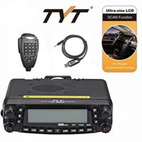 Wholesale NEW TYT TH PLUS W CH Quad Band Dual Display Reapter Car Ham Radio Programming Cable