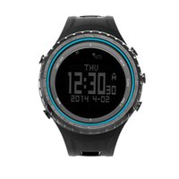 Wholesale SUNROAD FR801B Outdoor Sports Watch Pedometer Stopwatch Timer Altimeter Barometer Thermometer Compass EL Backlight Multifunction