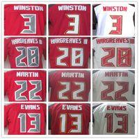 bay buccaneers - Men s Tampa Bay Buccaneers Mike Evans Jameis Winston Doug Martin Vernon Hargreaves III elite jerseys