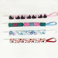 belt clip oem - 2016 OEM New design Baby Pacifier Clips cute cartoon design Drop resistant Belt for