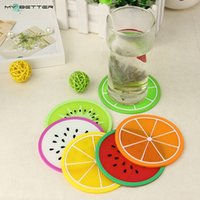 bamboo fruit bowl - Fruit Shape Antiskid Heat Insulation Coaster Creative Home Kitchen Bowl Mats Placemat Table Mat Cup Mat Meal Pad