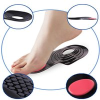 Wholesale O Leg Corrective Insoles Round Flatfoot Correction Pad Foot Inside and Outside the Correct Insoles