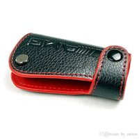 Wholesale MERCEDES AM G REAL LEATHER KEY COVER W203 W211 W204 RED FOR BENZ
