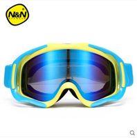 Wholesale Double Layer Anti fog Skiing Goggles Mountaineering Ski Glasses Large Cylinder Ski Equipment