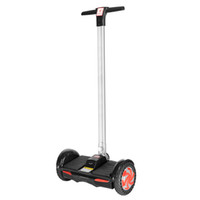 bar wheel - F1 Self Balancing Hover Board With Handle Bar F1 Scooter Inch Smart Balance Wheel Sum Battery With LED Light