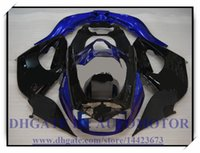 Yzf 1996 France-Kit de carénage neuf de haute qualité pour YAMAHA YZF1000R 1996-2007 1997 1998 1999 2000 YZF 1000R 1996-2007 YZF1000R 96-07 # XH109 BLACK BLUE