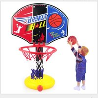 basketball hoop children - Children Mini Basketball Portable Outdoor Adjustable Sport Hoop Play Set MS A00074
