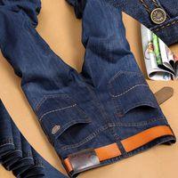 Wholesale 100 Cotton Blue Color Men s Fashion Jeans Famous Brand Jeans Men Size Available