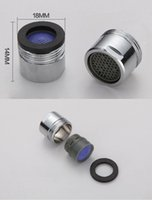 Wholesale Faucet Aerator Mm Mm Male Thread ABS Plastic Filter Net Tap Bubbler For Kitchen Bathroom Chrome Plated Brass