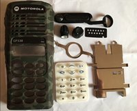 Wholesale Camouflage Color Housing Case Front Shell Dust Cover Knob Keypad For Motorola GP338 Radio