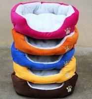 Wholesale Cashmere like soft warm Pet Cat Bed Pet Nest luxury Dog nest Luxury warm round W1630